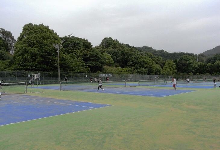 テニス楽しんでますか?